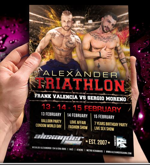 Triathlon Alexander Sauna